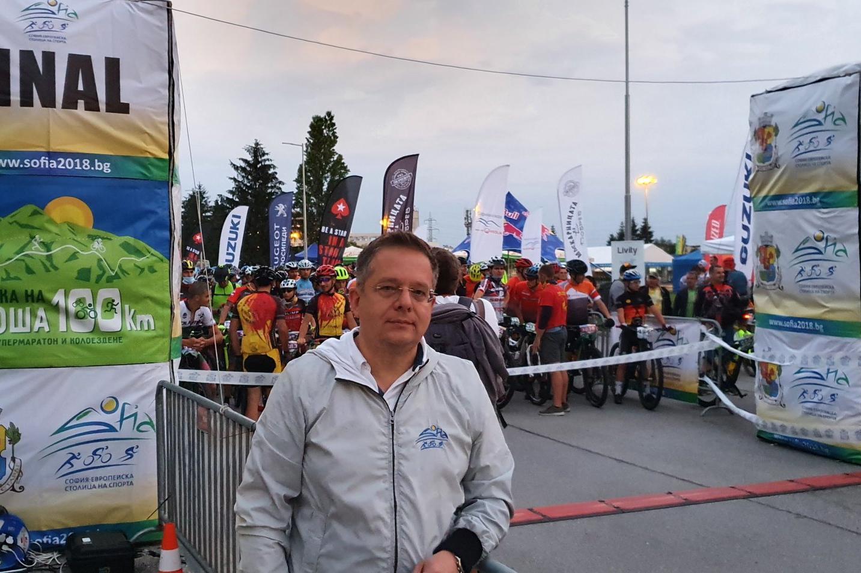 Дончо Барбалов даде старт на Витоша100 в 6 ч.