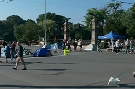 София блокирана заради протестите, кошмарен трафик на възлови трасета
