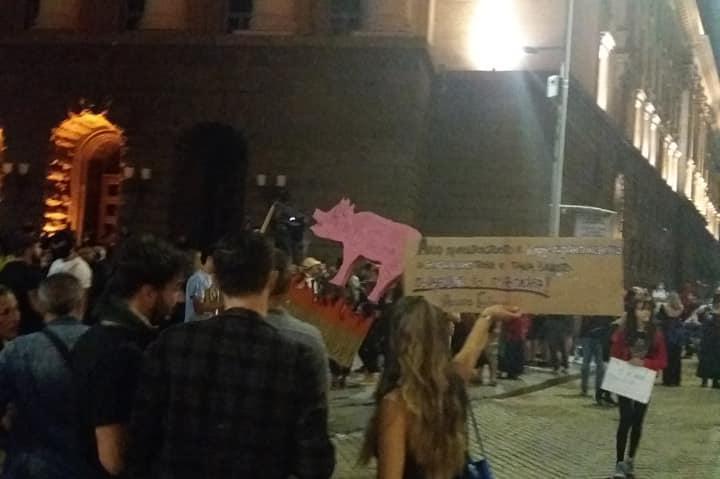 """Затворен за движение заради протестите е """"Цар Освободител"""""""