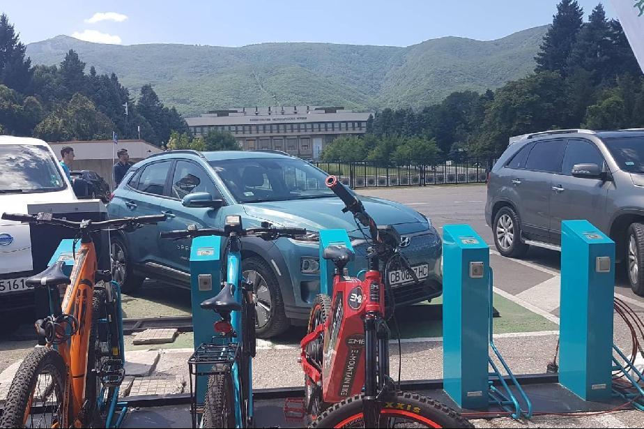 До Витоша с електрически велосипед - 30 лв. за 3 часа