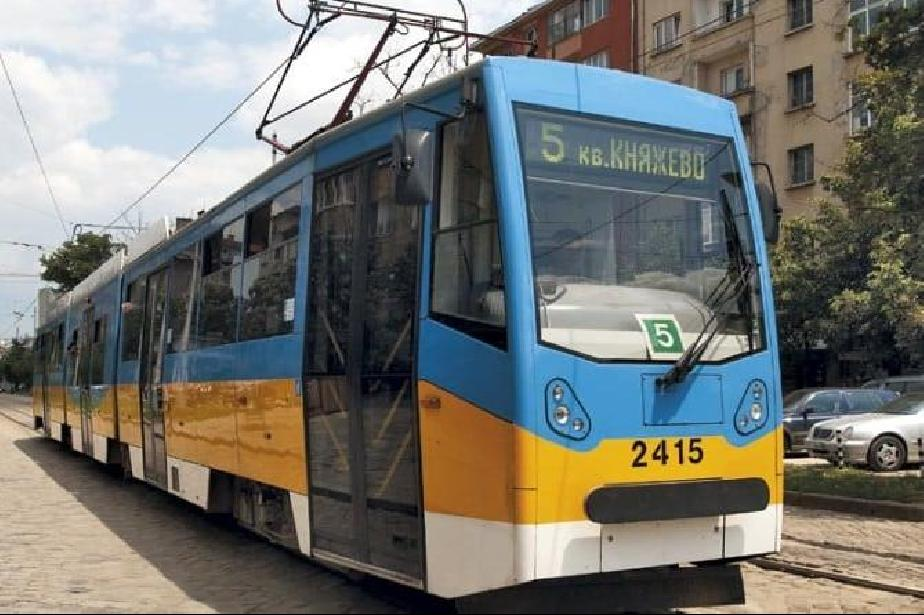 Увеличени са мотрисите по трамвайна линия 5