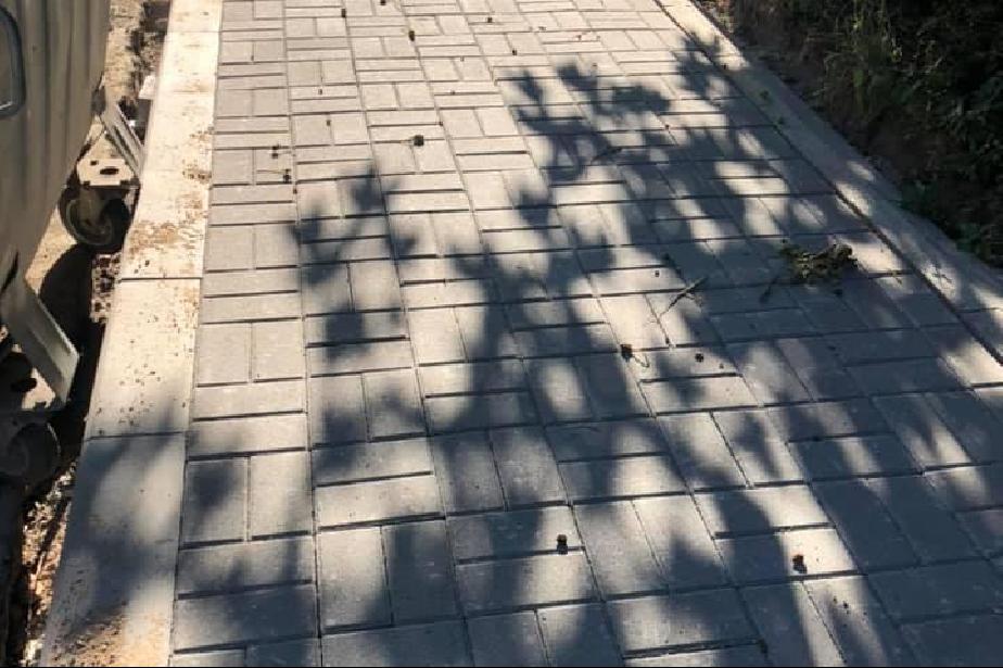 В Лозенец харесаха новия тротоар по ул. Кричим