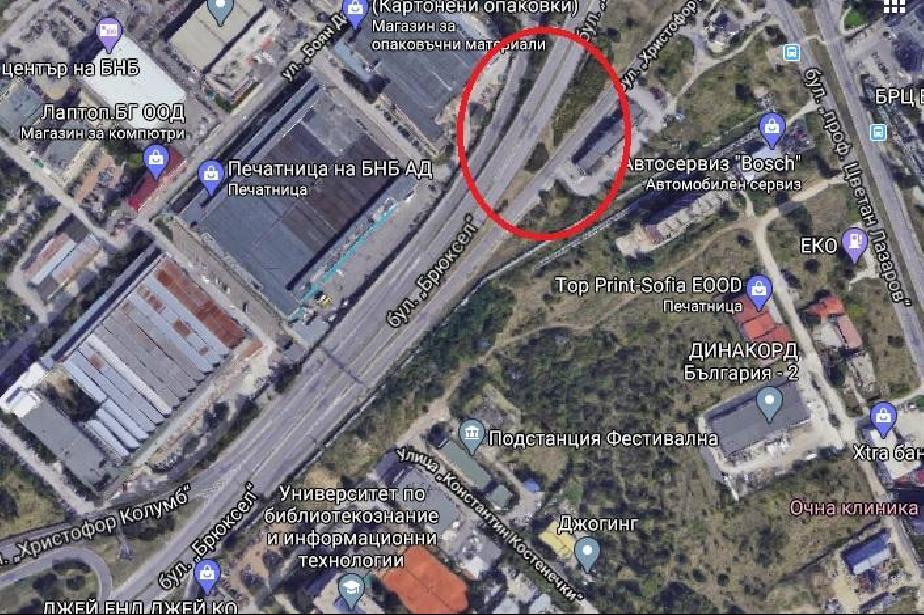 Ремонт: Дружба е затворена откъм Цариградско и Младост