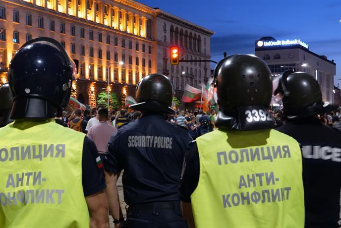 Екипите на СДВР предотвратиха конфликт на Орлов мост