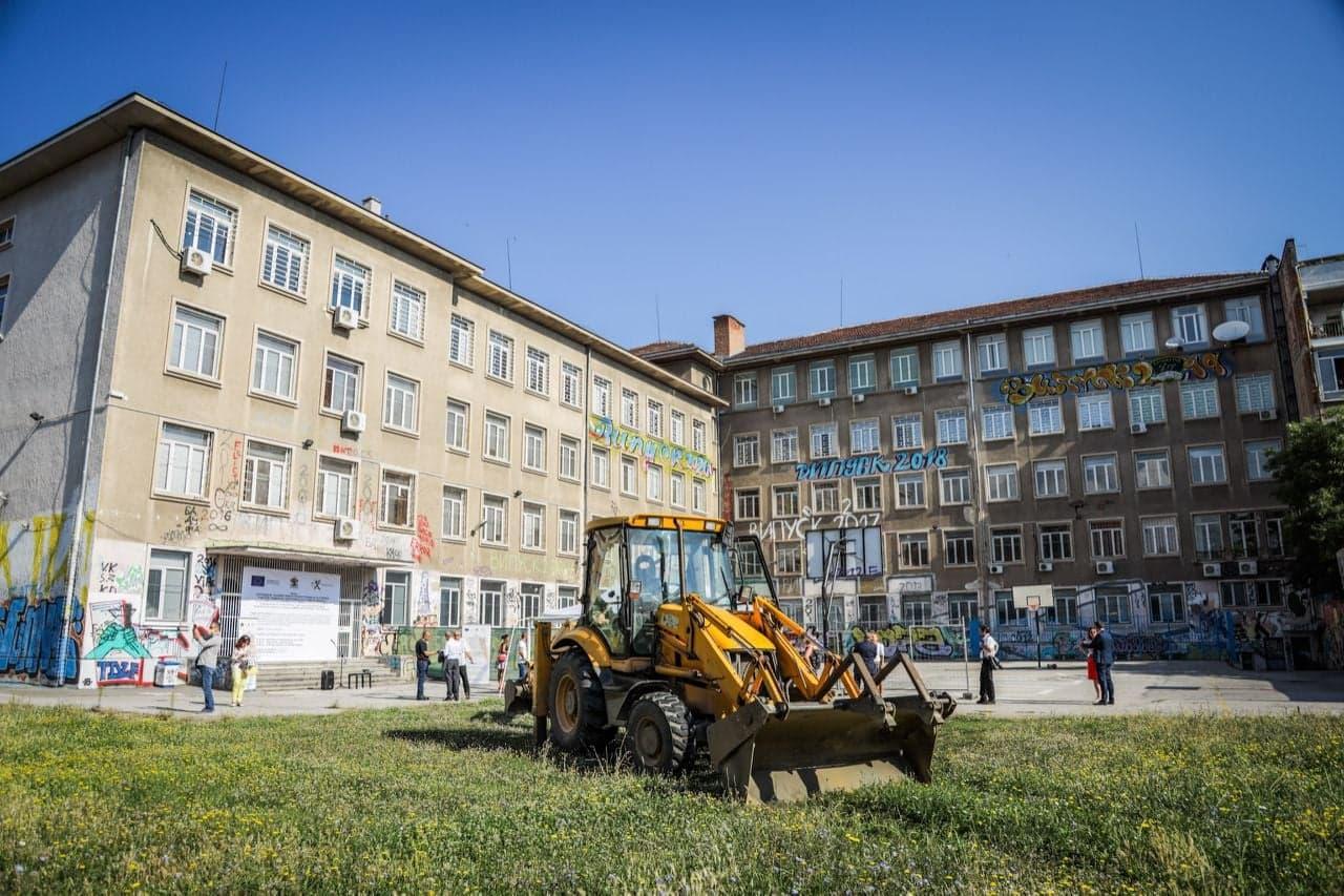 С физкултурен салон и сграда за 11 класни стаи разширяват 9-а Френска в Соф