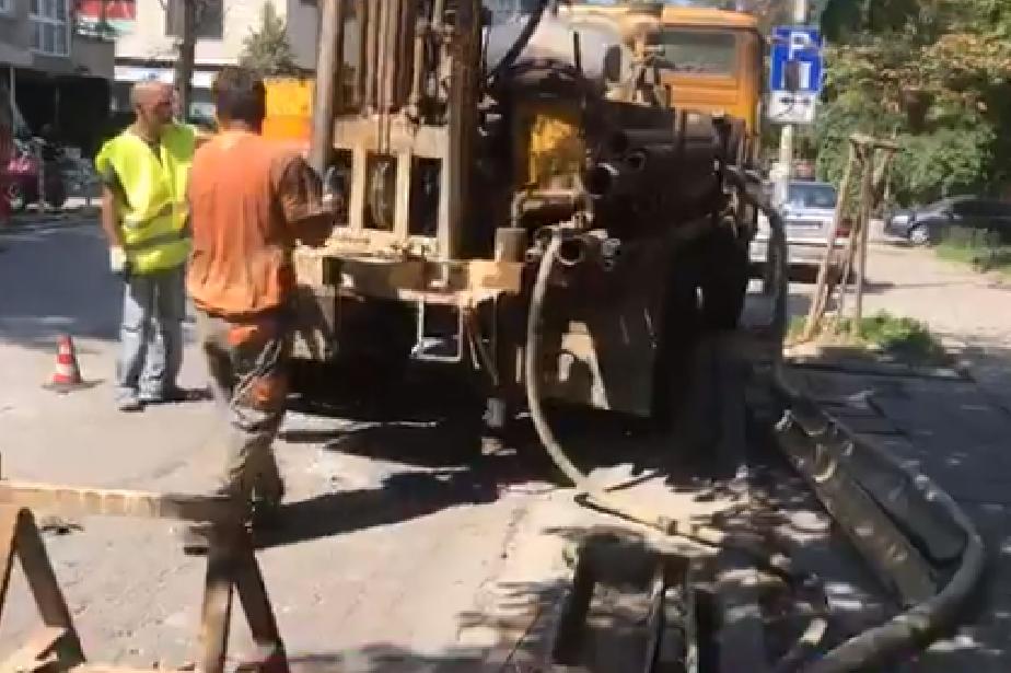 """Задава се цялостен ремонт на улица """"Николай Коперник"""""""