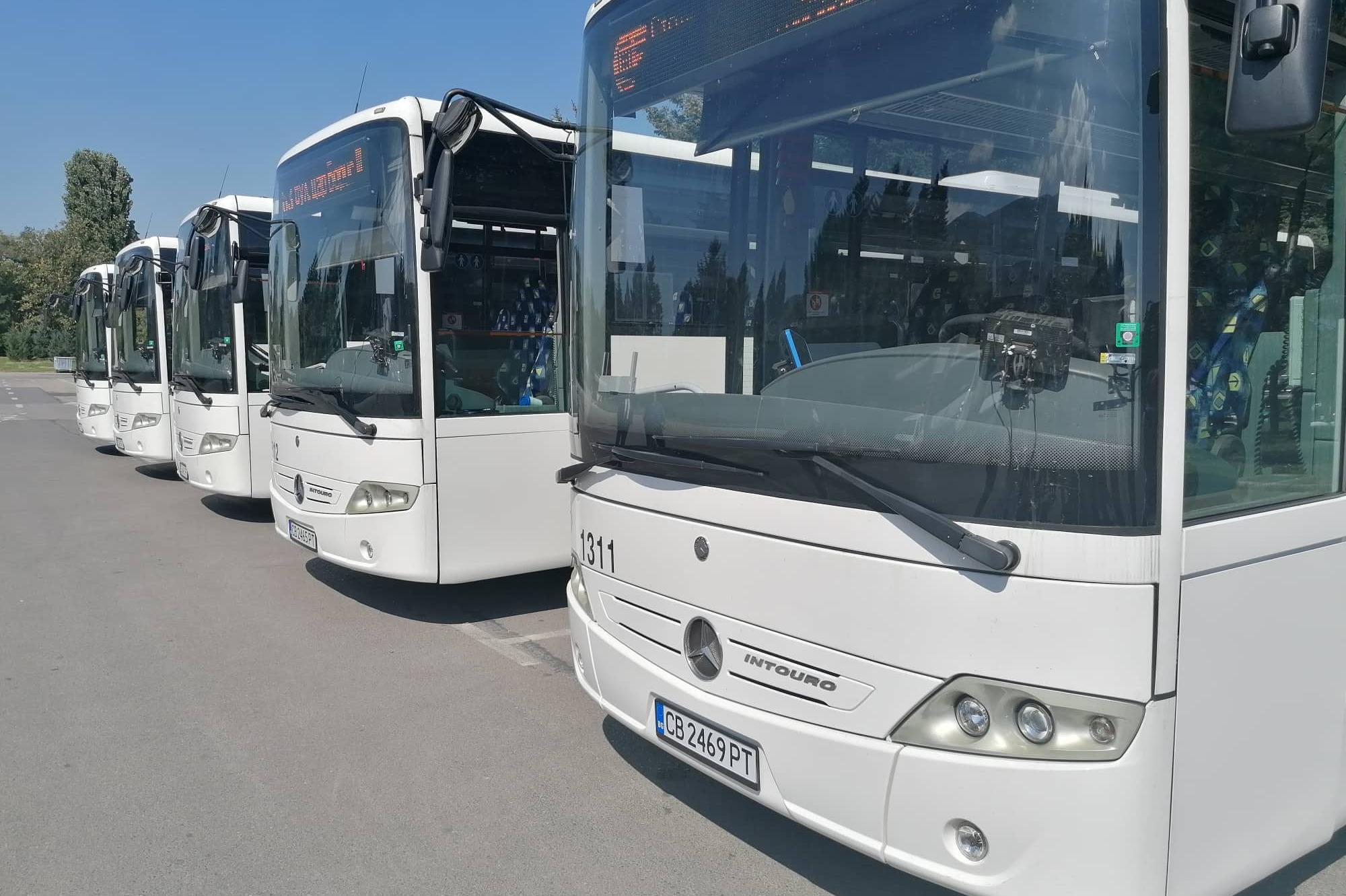 Още 5 автобуса, но EURO 6 тръгват към Витоша