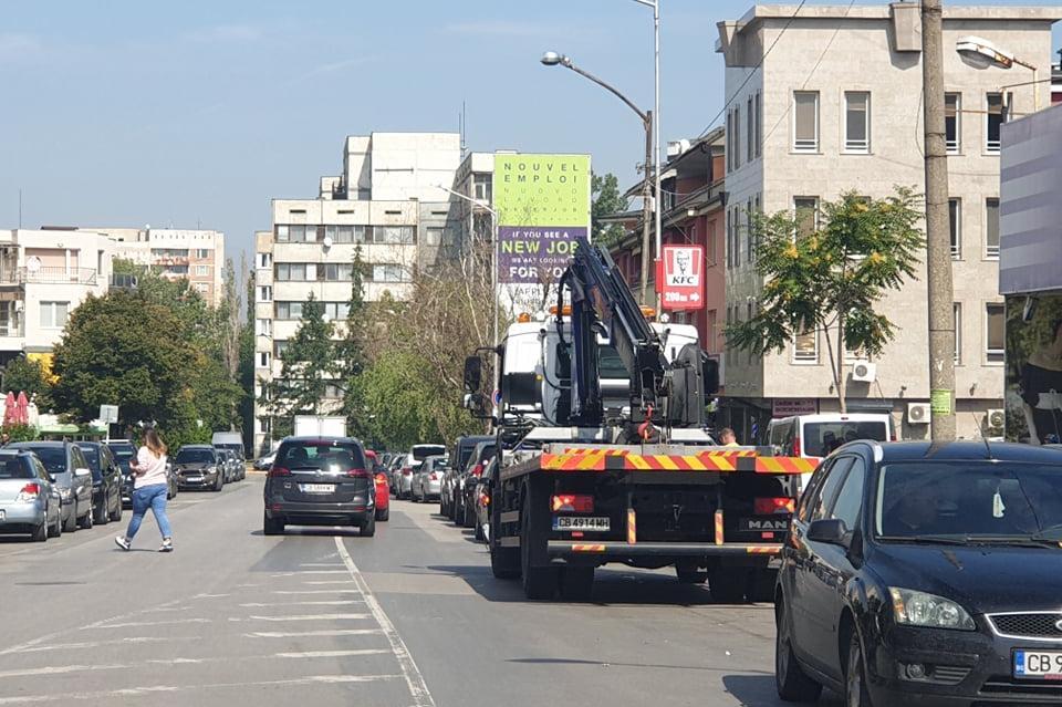 Засилват контрола за паркиране в Студентски град, паякът не прощава