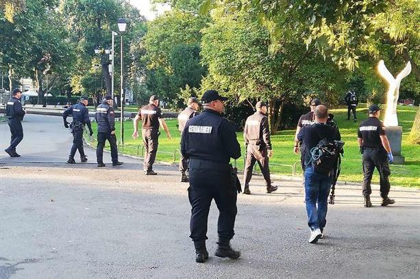 СДВР: Шест са задържани на протеста в София