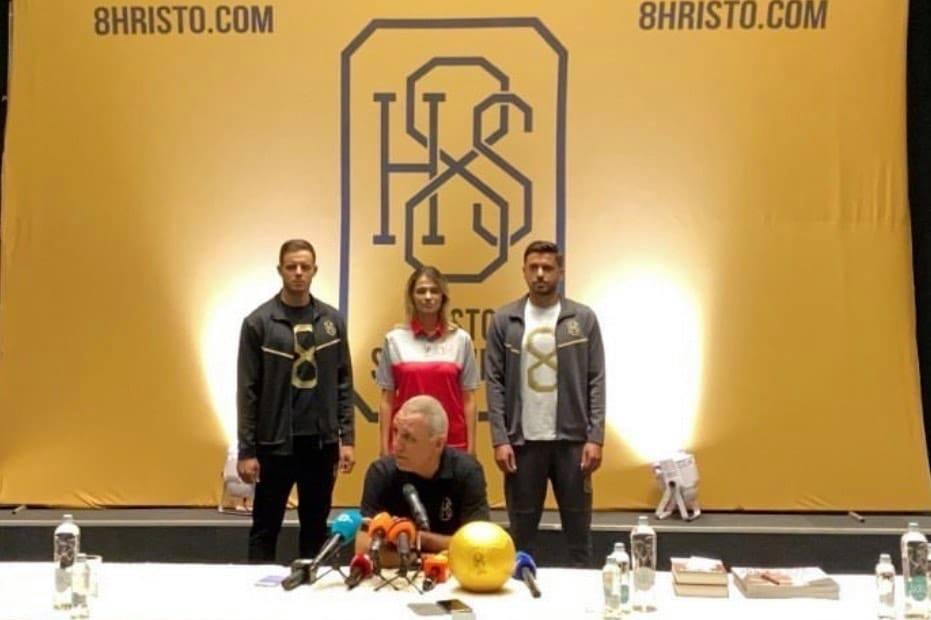 В София Христо Стоичков представи своя марка за спортни дрехи