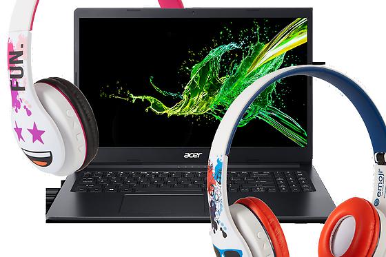 За всички ученици от VIVACOM: Лаптоп или таблет с подарък слушалки