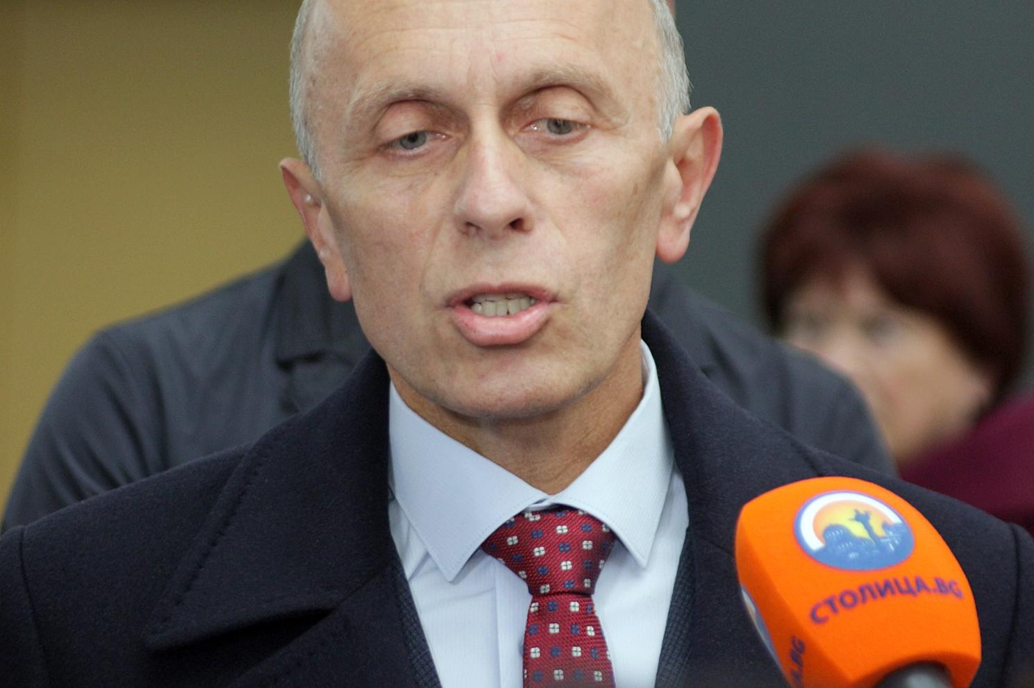 Зам.-кметът на Столична община инж. Цветан Божинов напуска по лични причини