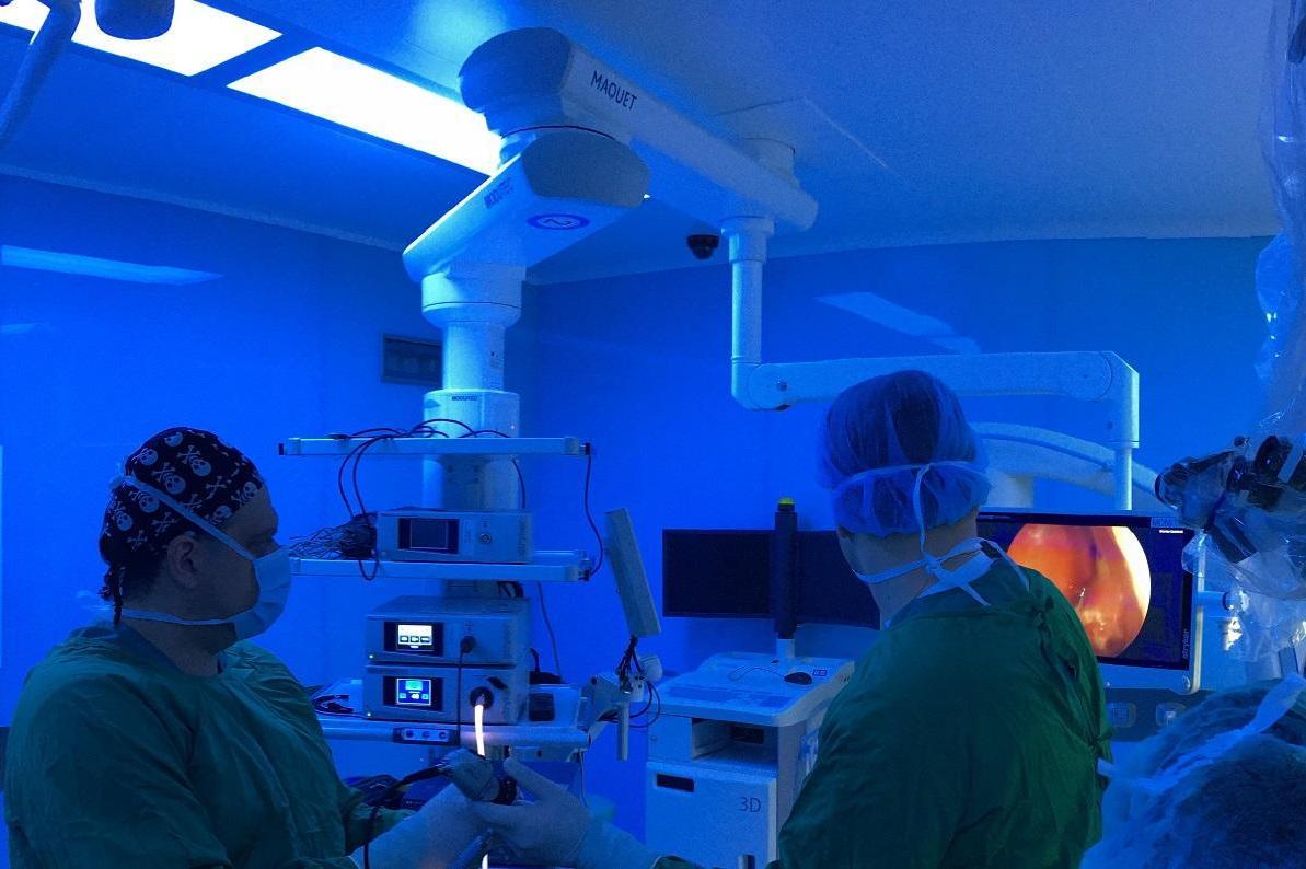 Излезе книгата за седем достъпа за хирургия на хипофизата