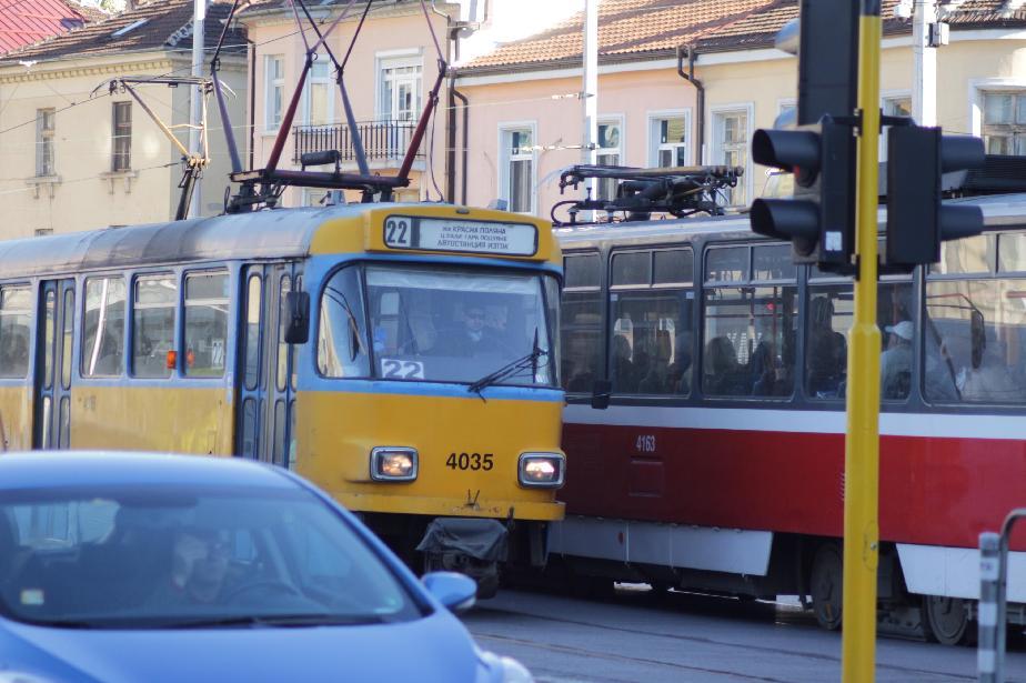 От понеделник: Трамваи 20, 22 и 23 тръгват по старите си маршрути
