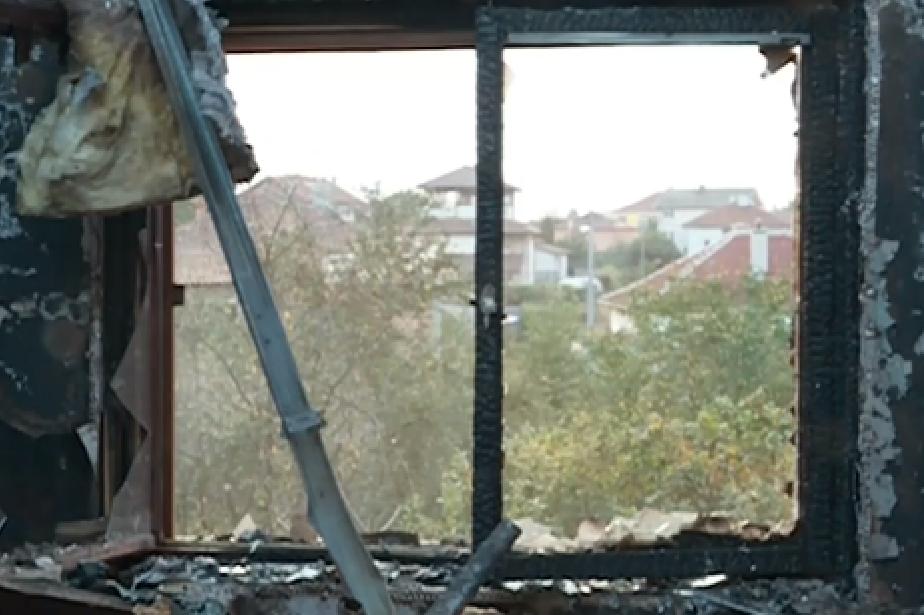Столичен полицай остана на улицата, след като пожар изпепели дома му