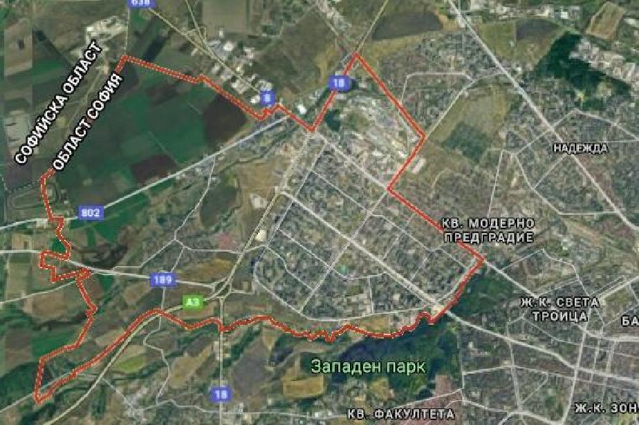 Завърши промяната на движение в столчния район Люлин