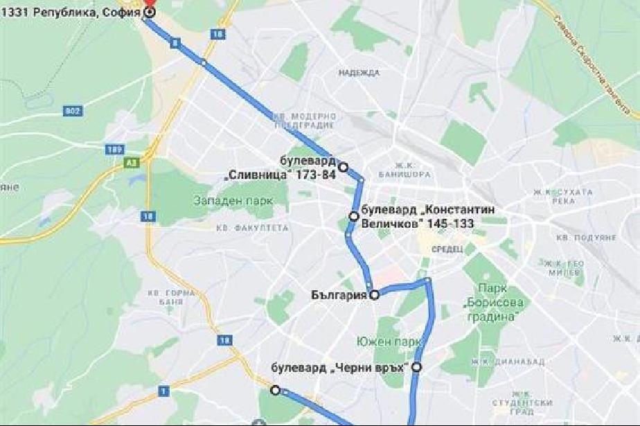 """Мотористи в нощно каране под надслов """"Толерантност на пътя"""" в София"""