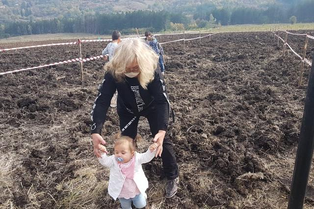 21500 дръвчета трябва да бъдат засадени в новата гора на София (СНИМКИ)