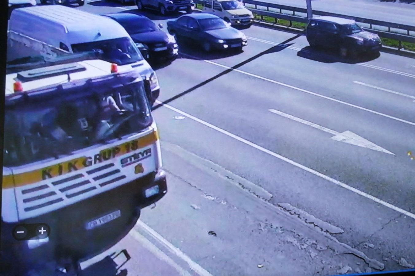 """Хванаха и глобиха шофьорът, замърсил бул. """"Цариградско шосе"""""""