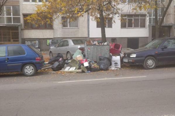 """В петък се извозва едрогабаритният отпадък в """"Младост"""" 4 (СНИМКИ)"""