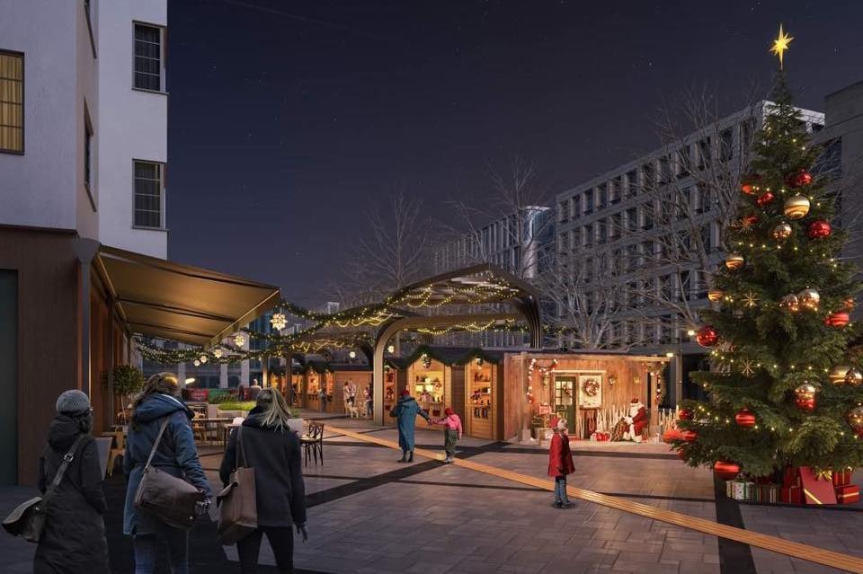 """Коледният базар на София ще е на площад """"Славейков"""""""