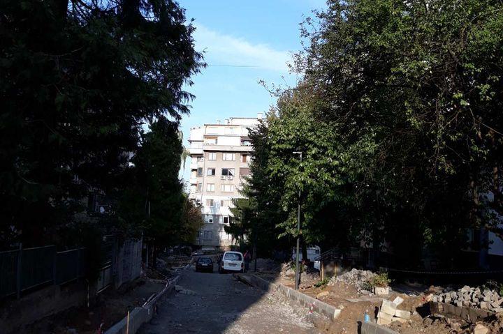 """До края на седмицата продължава ремонтът на ул. """"Кожух планина"""""""