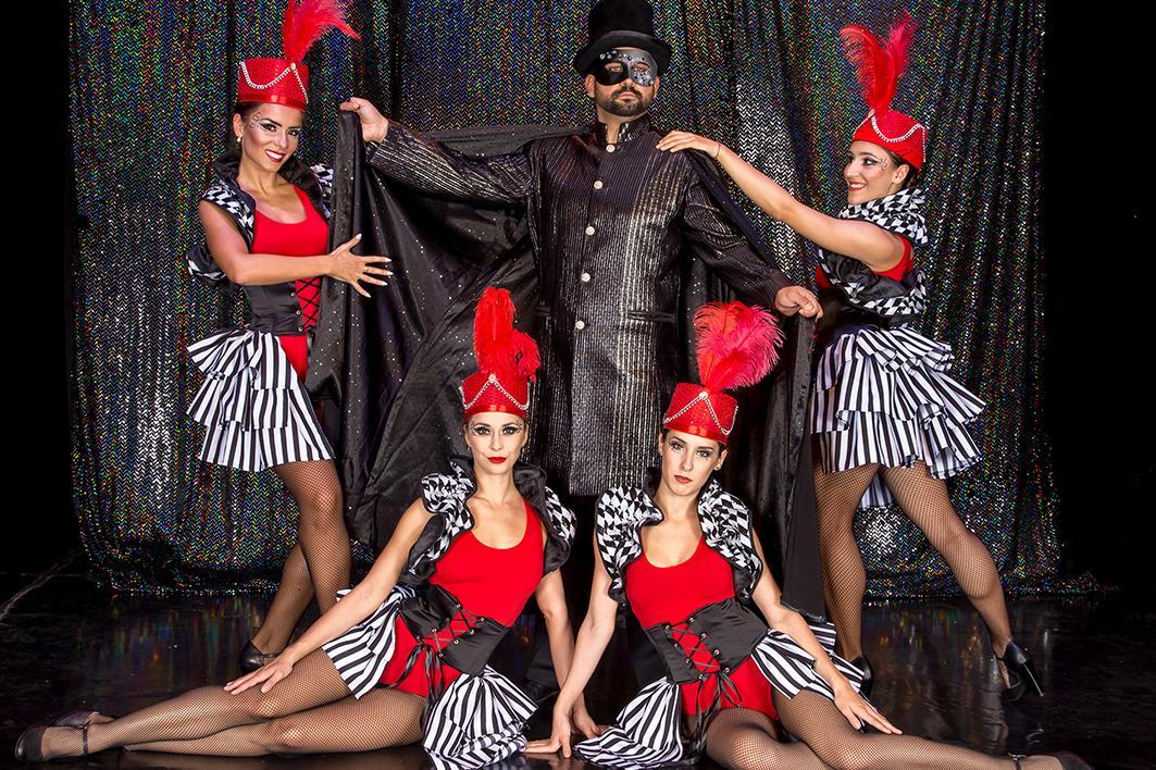 """Въздушен обръч и специални илюзии в  """"Принцесата на цирка"""" в Оперетата"""