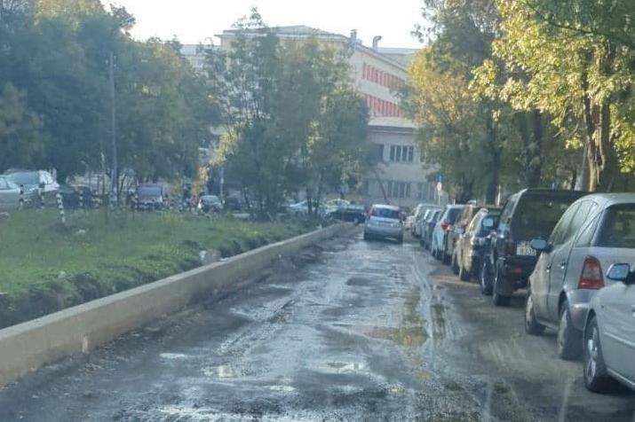 2 месеца Топлофикация-София държи без асфалт улица до Национална кардиологи
