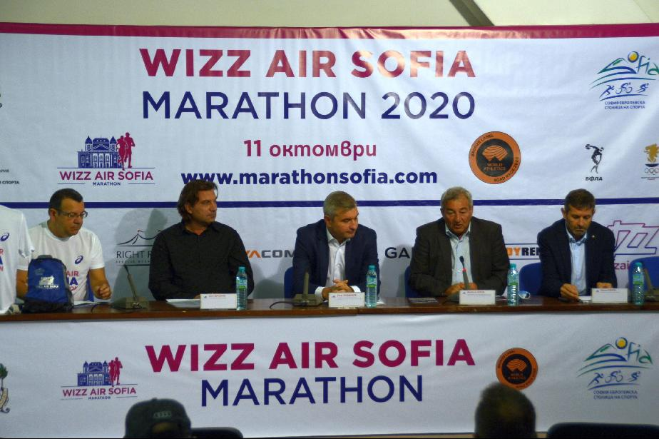 Класни атлети от чужбина стартират на  Wizz Air София маратон