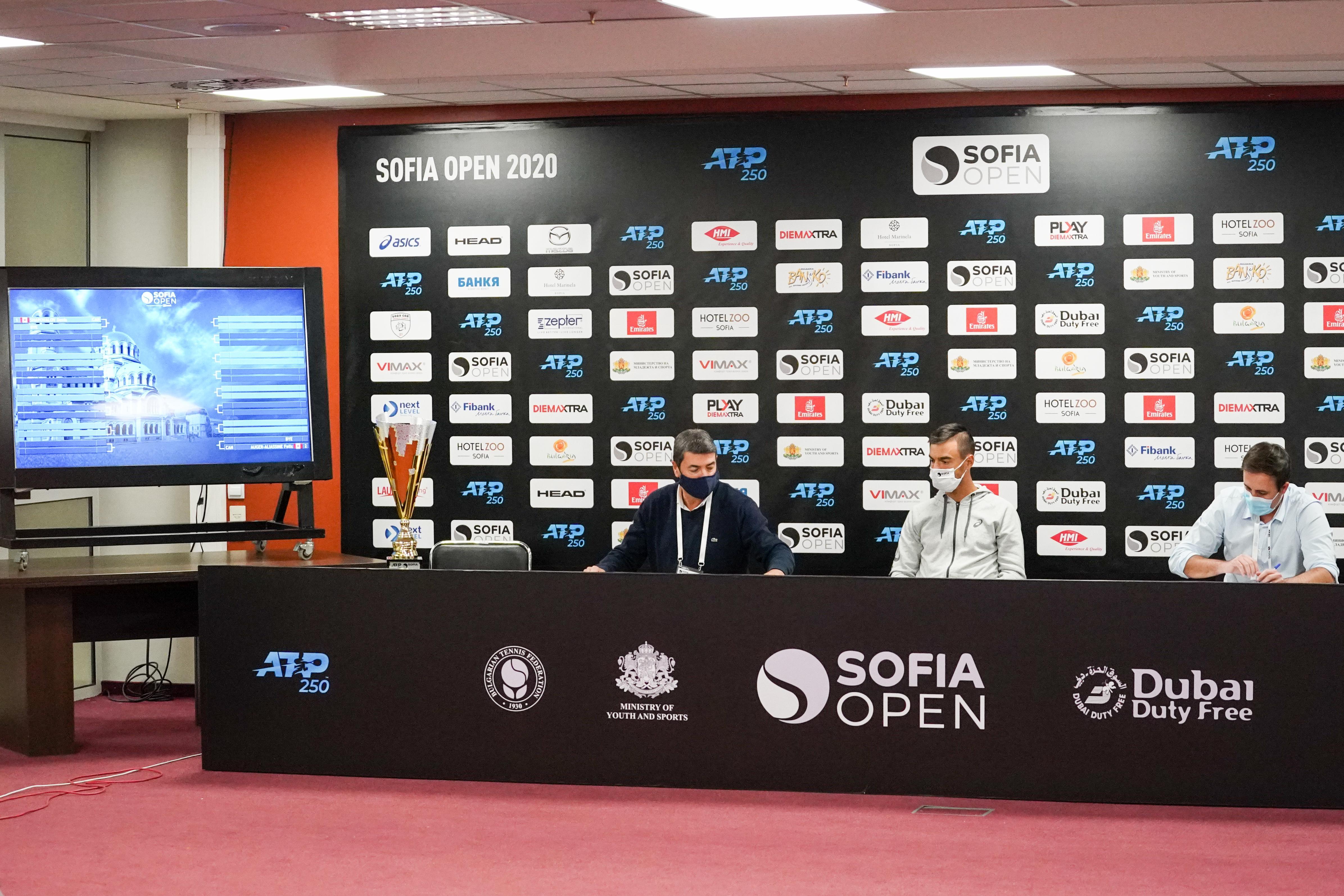 Канадци са №1 и 2 в основната схема на Sofia Open 2020