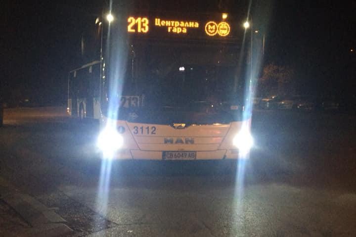 Шофьор на автобус № 213 помогна на инвалид