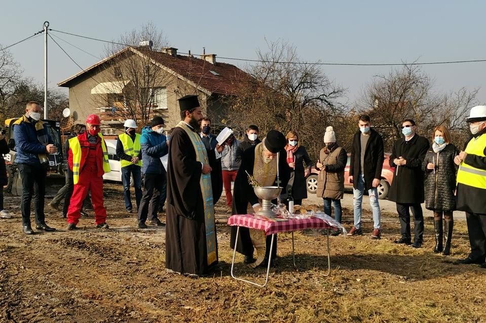 """Днес бе направена първа копка за нова детска градина в """"Горна баня"""" (СНИМКИ"""