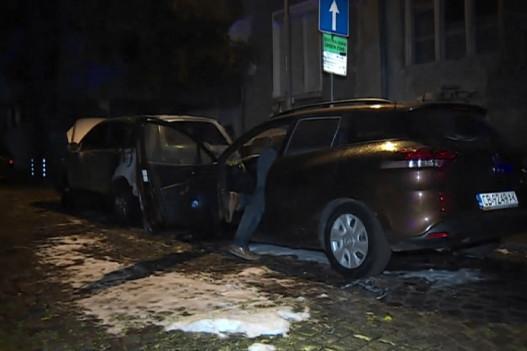 Запалиха две коли в София, вероятно умишлен палеж