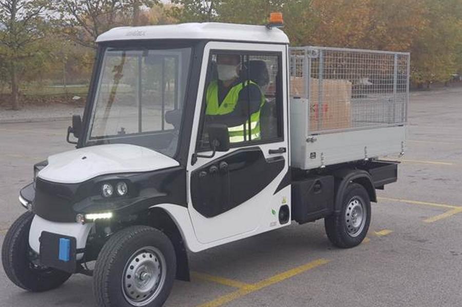 Електрически лекотоварни автомобили се включват в поддръжката на софийските