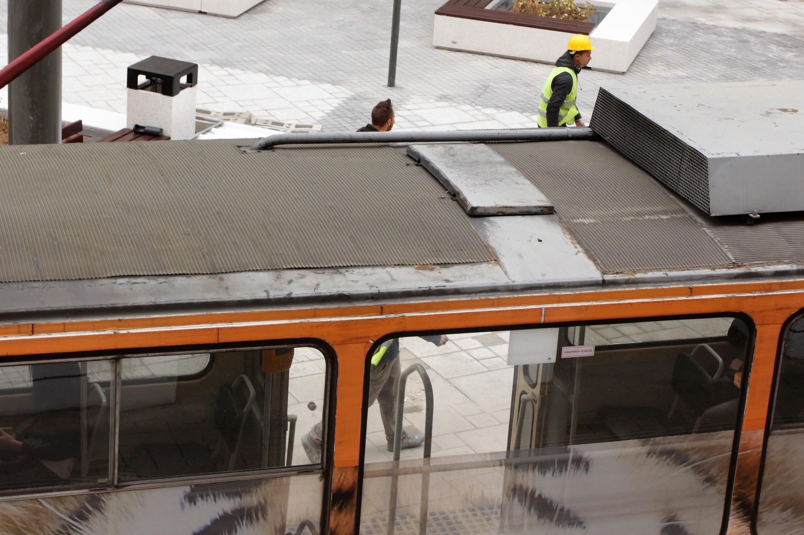 Ремонтират трамвайните линии номер 11 и 22 в София