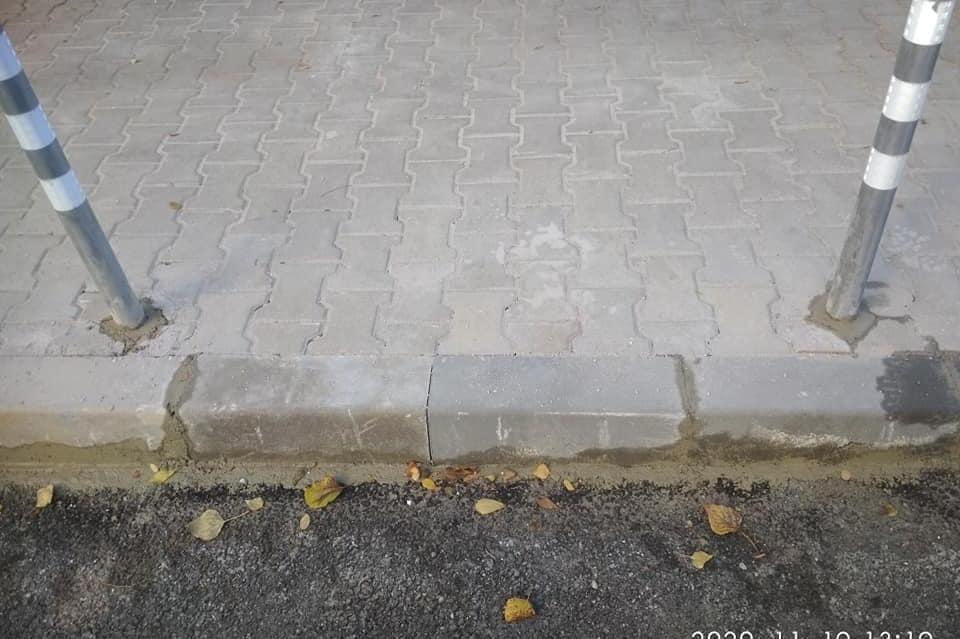 """Ремонтираха пропадналия тротоар на ул. """"Св. Пимен Зографски"""""""