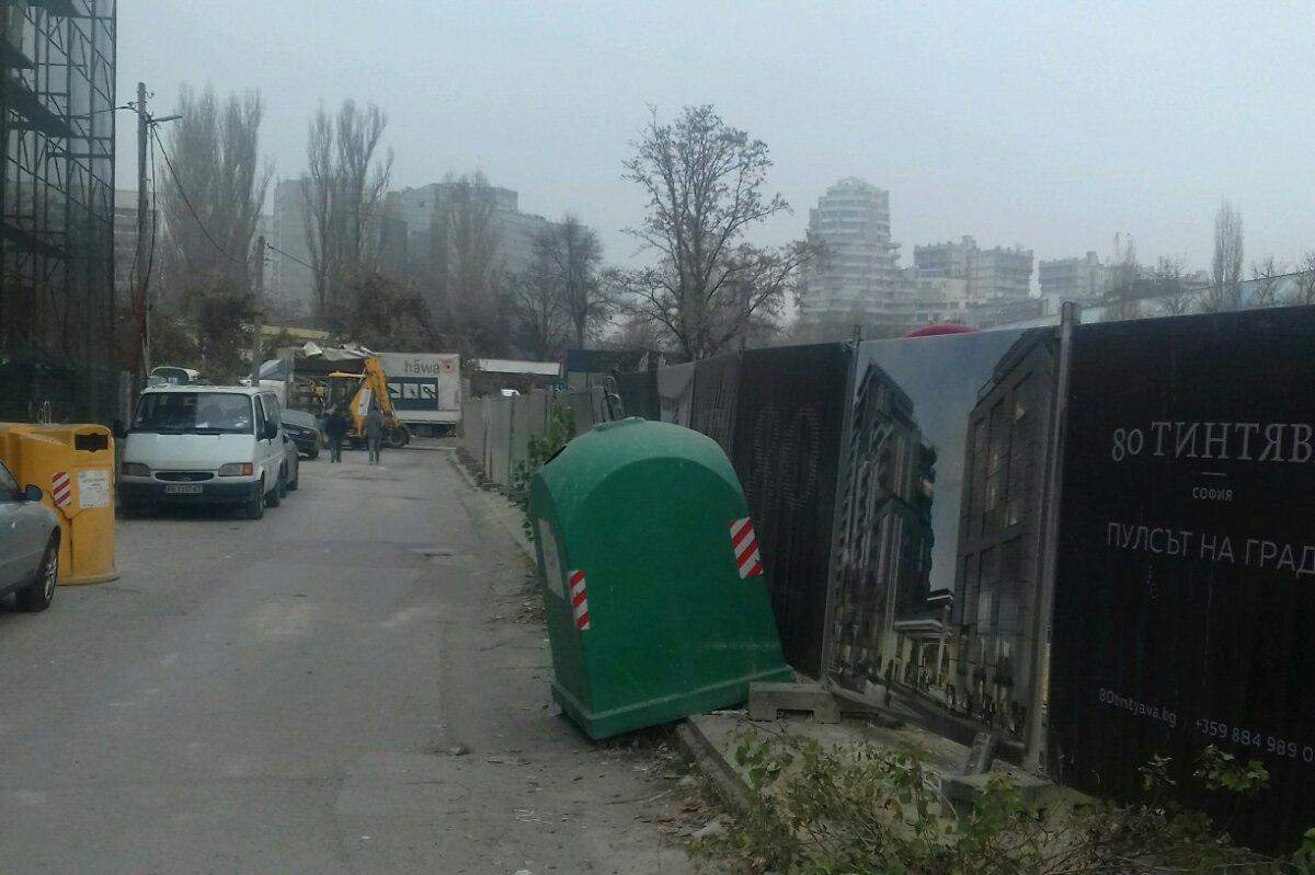 """Строителни фирми в """"Изгрев"""" бяха санкционирани от Столичен инспекторат (СНИ"""