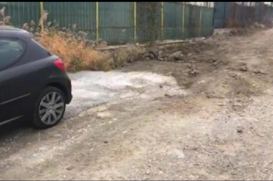 """Замърсяване от повредена бетон- помпа докара глоба на строители от ул. """"Бор"""