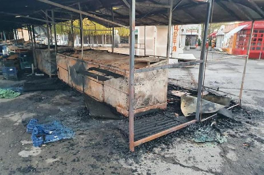 Пожар изпепели сергии в Дружба 2