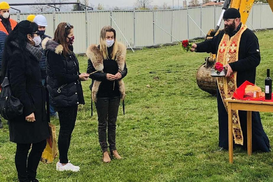 "Започна строежът на детска градина за две групи в ""Сеславци"""