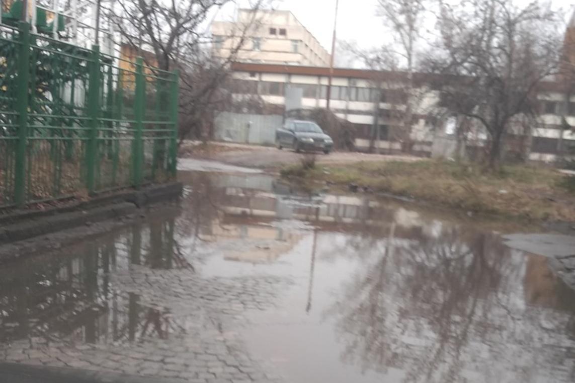 От години: Езеро между стадион Академик и БАН