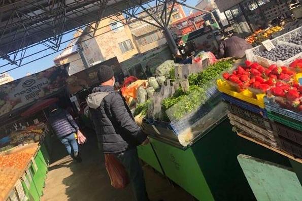 Гражданин от Красно село: На пазара не пускат без маски, спазват се мерките