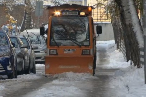 За столичани: Глобата за непочистен тротоар пред блока е от 100 до 700 лева