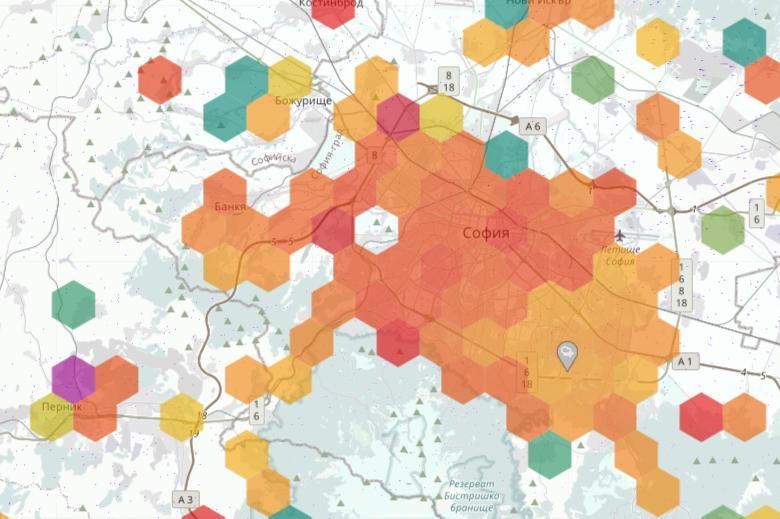 """Най-мръсен въздуха е в столичните Лагера, Хиподрума, Борово и """"Хаджи Димитъ"""