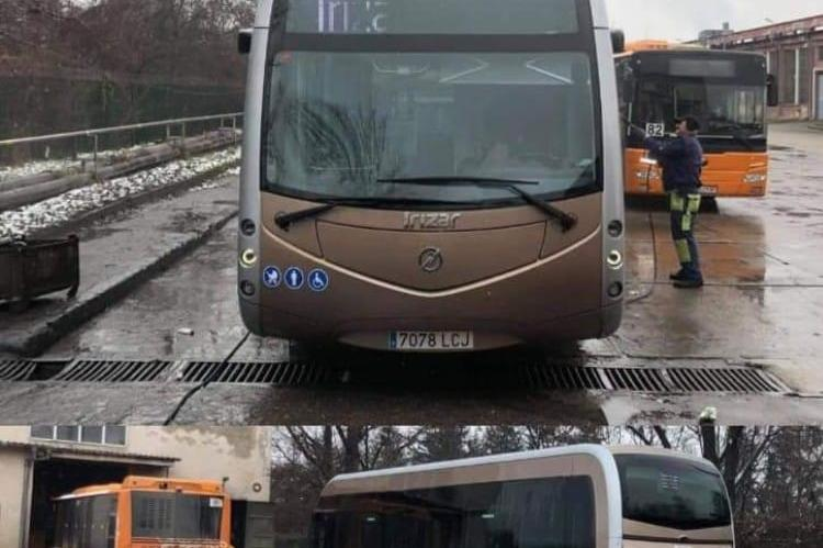 Новите испански електробуси
