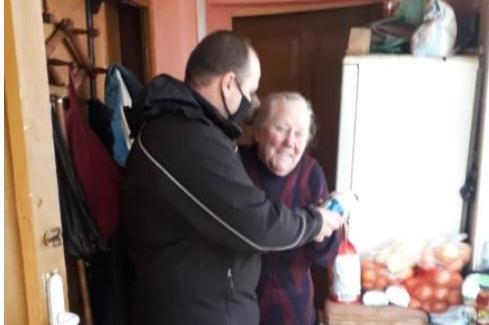 Спасената от АПП възрастна жена се върна в дома си в Мировяне