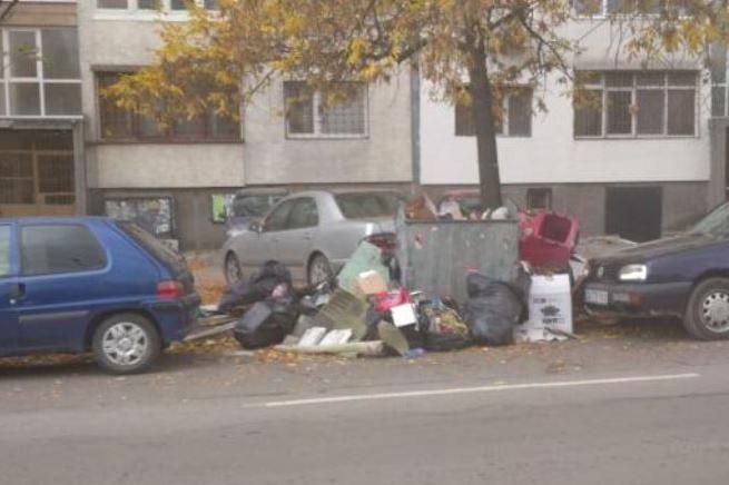 В София са събрани над 5500 тона едрогабаритни отпадъци за 2020г.