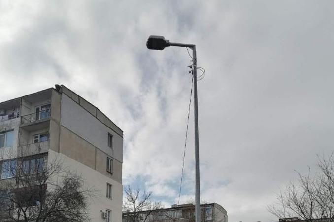 Пуснаха улично осветление с LED осветителни тела в Надежда (СНИМКИ)