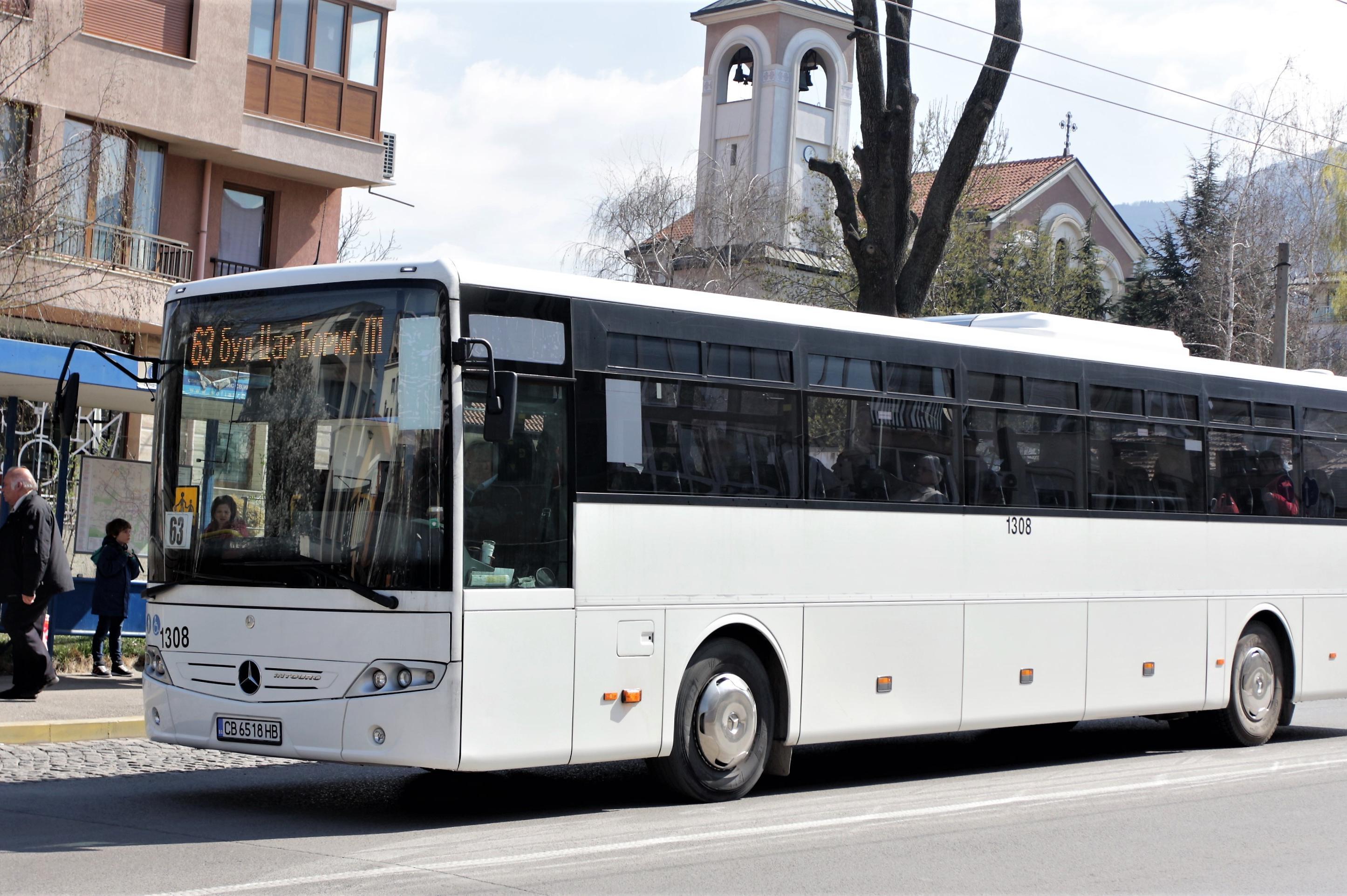 От 30 януари: Пускат по още един автобус по линии 63 и 66 към Витоша
