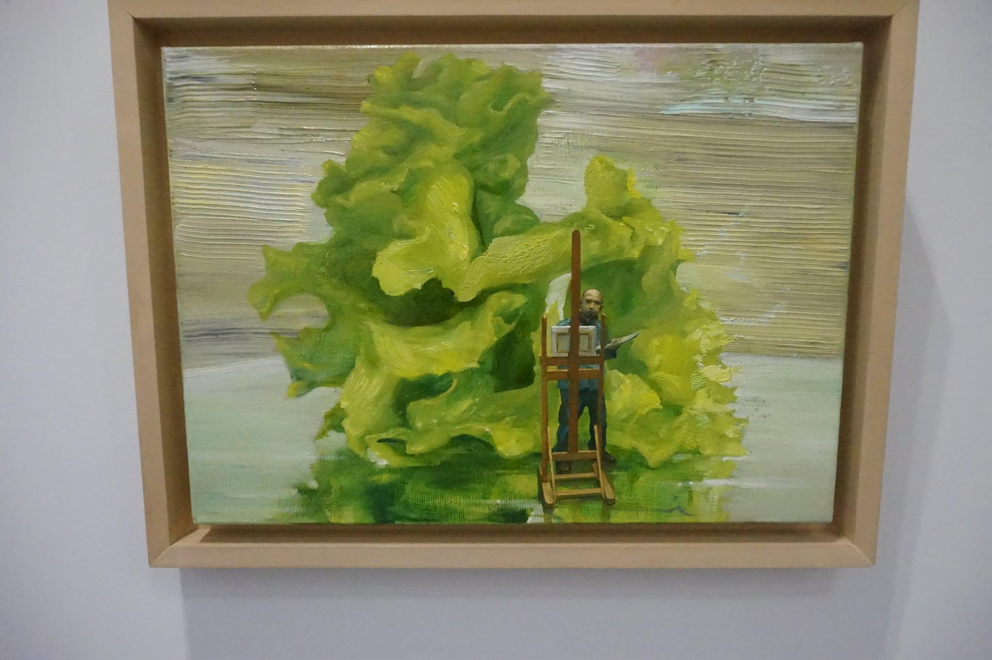 """В Баня откриха годишната изложба """"Съвременна живопис"""""""